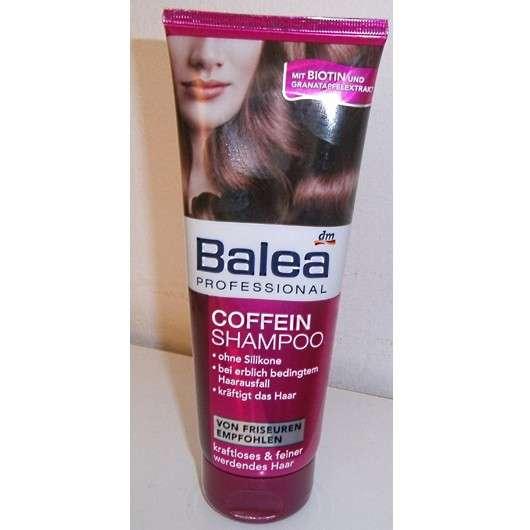 test shampoo balea professional coffein shampoo testbericht von cuddly. Black Bedroom Furniture Sets. Home Design Ideas