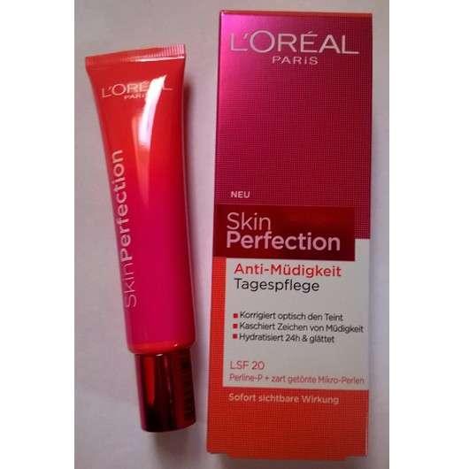 L'ORÉAL PARiS SkinPerfection Anti-Müdigkeit Tagespflege mit LSF 20