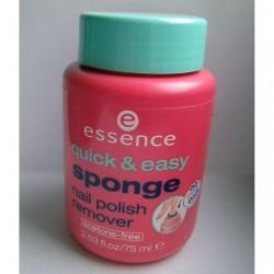 Produktbild zu essence quick & easy sponge nail polish remover
