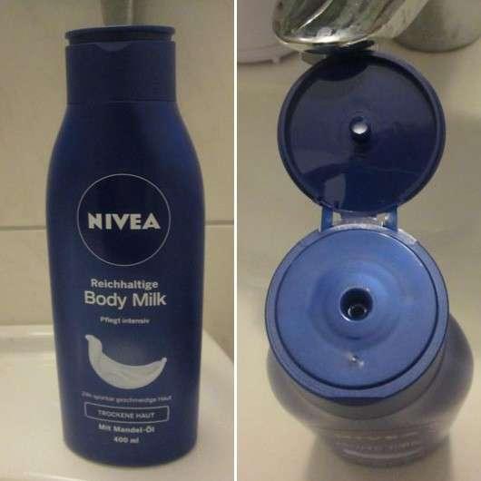 NIVEA Reichhaltige Body Milk (trockene Haut)