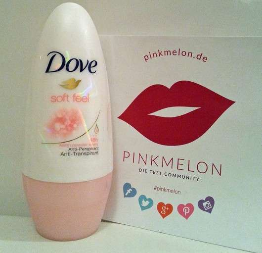 Dove Soft Feel Anti-Transpirant Roll-On