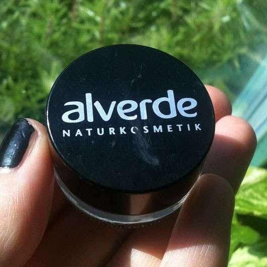 alverde Eyeliner Gel, Farbe: 20 Espresso Brown