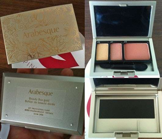 Arabesque Bestückte Beauty Box