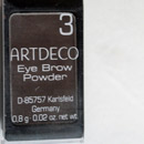 Artdeco Eye Brow Powder, Farbe: 3 brown