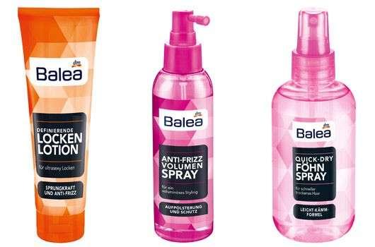 Showtime für die neuen Balea Haarstylingprofis