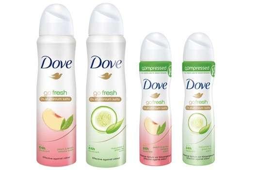 "Dove ""go fresh Pfirsich- & Zitronenverbenenduft"" Deodorant"