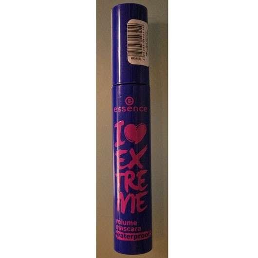 essence I love extreme volume waterproof mascara, Farbe: black