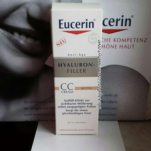 test get nte creme eucerin hyaluron filler cc cream farbe mittel testbericht von. Black Bedroom Furniture Sets. Home Design Ideas