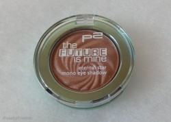 Produktbild zu p2 cosmetics the future is mine eternal star mono eye shadow – Farbe: 030 virtually bronze (LE)