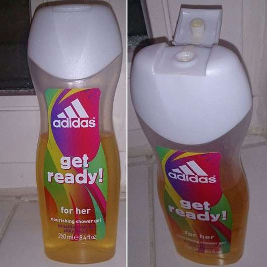 adidas get ready! for her nourishing shower gel