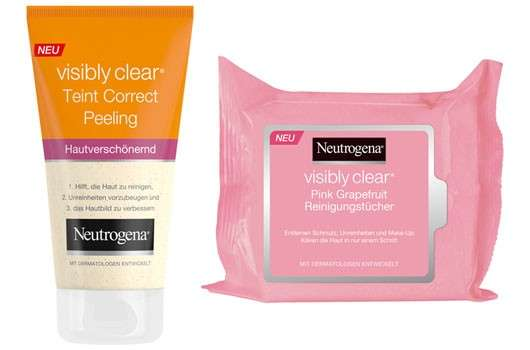 Neutrogena visibly clear Neuheiten