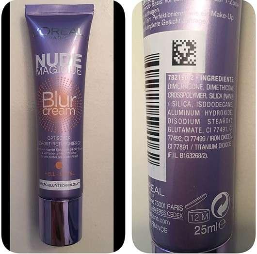 L'ORÉAL PARiS Nude Magique Blur Cream (Hell bis mittel)