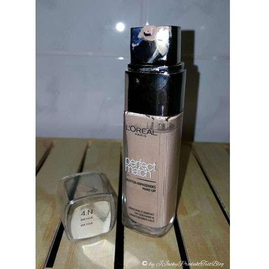 L'Oréal Paris Perfect Match Hautton-Anpassendes Make-up, Farbe: 4.N Beige & 5.D/5.W Golden Sand