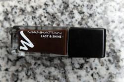 Produktbild zu MANHATTAN Last & Shine Nail Polish – Farbe: 002 Chocolate Cookie (LE)