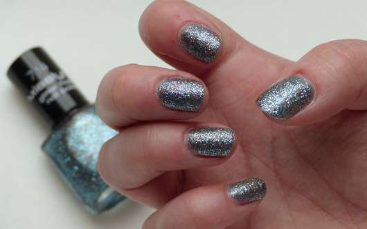Misslyn glitter flash nail polish, Farbe: 714 stay with me (LE)