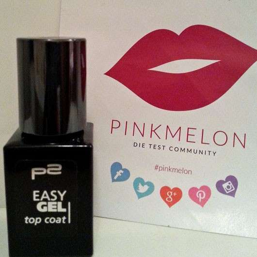 p2 easy gel top coat