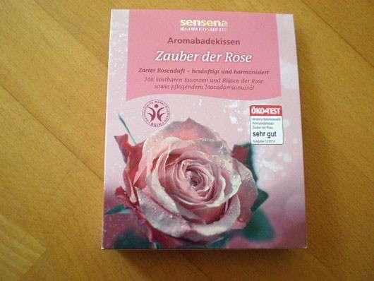 Sensena Aromabadekissen Zauber der Rose