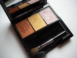 Produktbild zu Shiseido Luminizing Satin Eye Color Trio – Farbe: BR214 Into the Woods