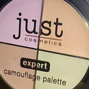 just cosmetics expert camouflage palette