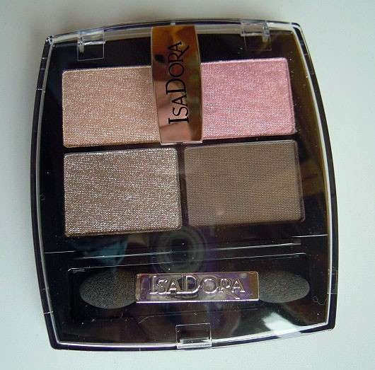 IsaDora Eye Shadow Quartet, Farbe: 05 Nude Rose