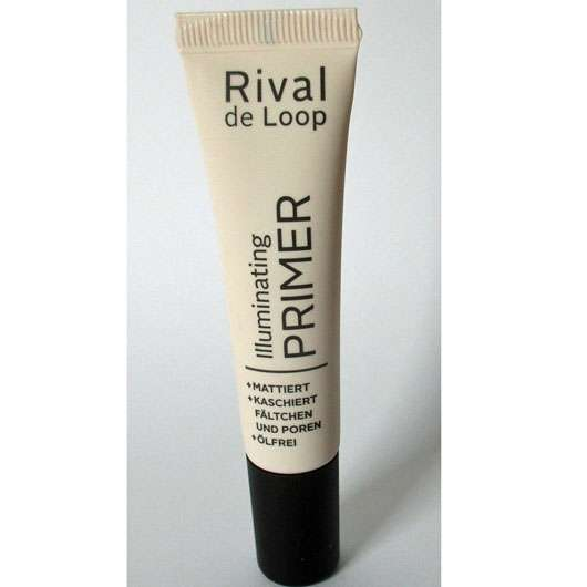 test make up base rival de loop illuminating primer testbericht von aljana. Black Bedroom Furniture Sets. Home Design Ideas