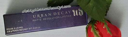 Urban Decay Matte Revolution Lipstick, Farbe: Bad Blood