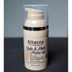 Produktbild zu Alterra Naturkosmetik Nude & Matt Make-up – Farbe: 01 Porcelain