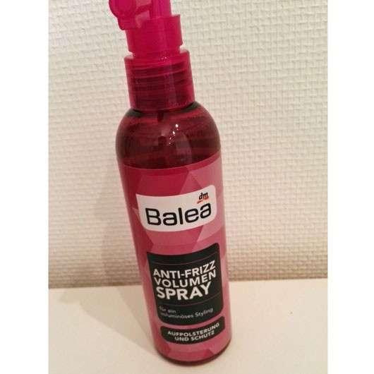 test spezialstyling balea anti frizz volumen spray testbericht von produktedschungel. Black Bedroom Furniture Sets. Home Design Ideas