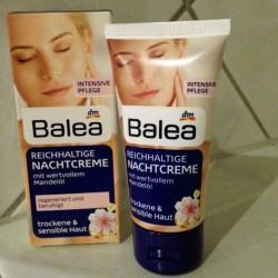 Produktbild zu Balea Reichhaltige Nachtcreme (trockene & sensible Haut)