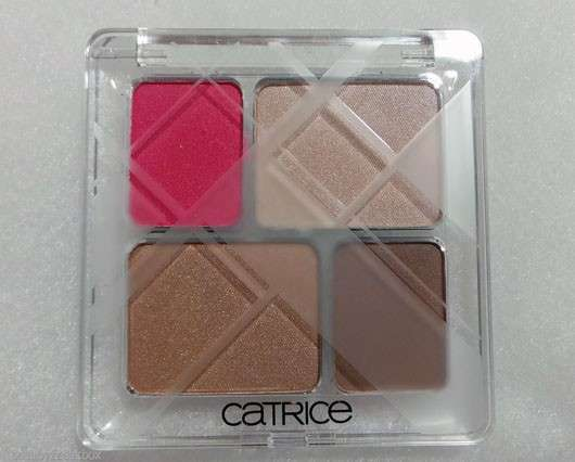 Catrice Graphic Grace Quattro Eyeshadow, Farbe: C01 Linear Lines (LE)