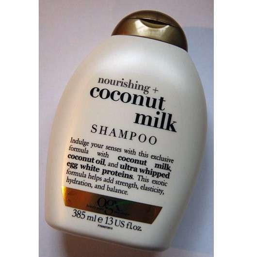 ogx nourishing+ coconut milk shampoo