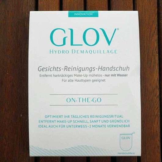 GLOV On-The-Go Gesichts-Reinigungs-Handschuh