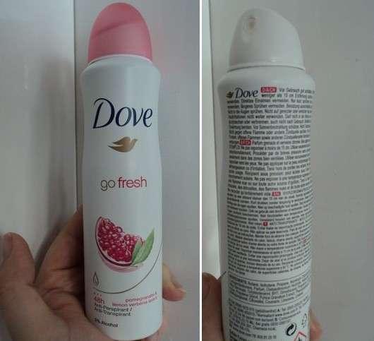 Dove go fresh Anti-Transpirant Spray Granatapfel- & Zitronenverbenenduft