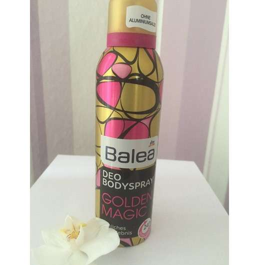 "Balea Deodorant Bodyspray ""Golden Magic"""