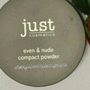 just cosmetics even & nude compact powder, Farbe: 020 ivory (LE)