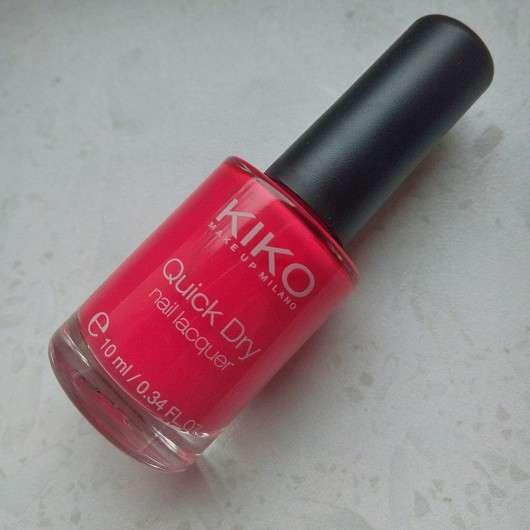 KIKO quick dry nail lacquer, Farbe: 844 cherry pink
