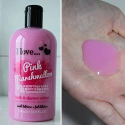 Produktbild zu I love… Pink Marshmallow bath and shower crème (LE)