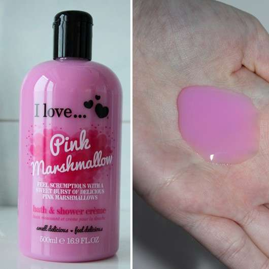 <strong>I love…</strong> Pink Marshmallow bath and shower crème (LE)