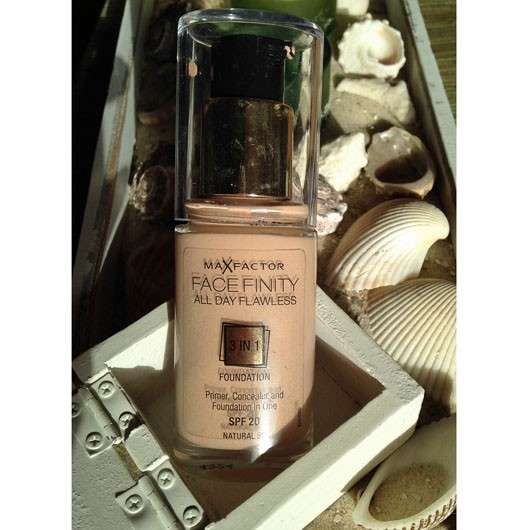 Max Factor Face Finity All Day Flawless 3in1 Foundation, Farbe: Natural 50