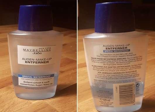Maybelline Augen-Make-Up Entferner Spezial Waterproof