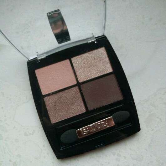 IsaDora Eye Shadow Quartet, Farbe: 06 Nude Sand