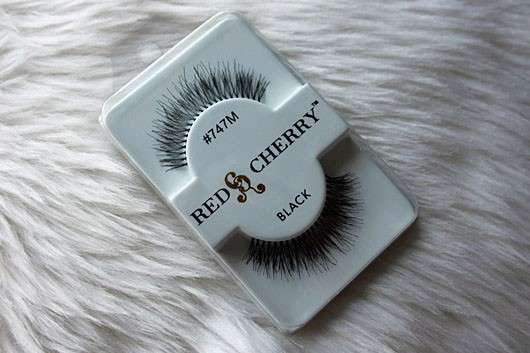 Red Cherry Eyelashes Falsche Wimpern Nr. 747M Birmingham – Echthaar