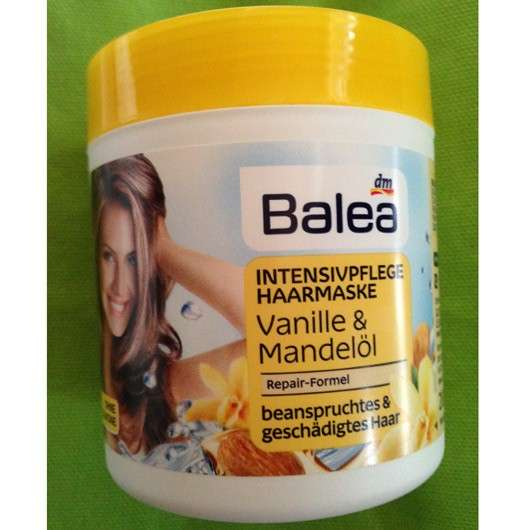 Balea Instensivpflege Haarmaske Vanille & Mandelöl