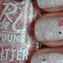 Rival de Loop Young Glitter Nails, Farbe: 06 glamour d'amour