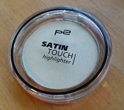 Produktbild zu p2 cosmetics satin touch highlighter – Farbe: 010 satin shine
