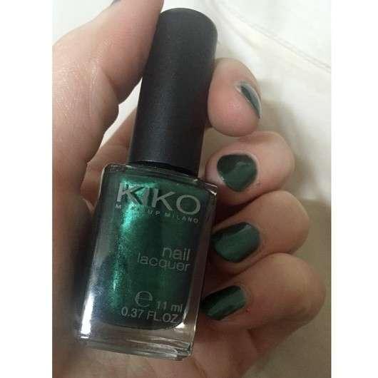 KIKO nail lacquer, Farbe: 535 Metallic British Green