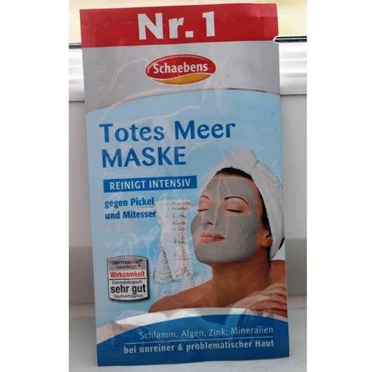test maske schaebens totes meer maske testbericht von tonit. Black Bedroom Furniture Sets. Home Design Ideas