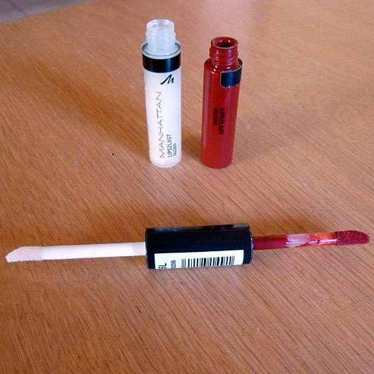 test lipgloss manhattan lips2last gloss farbe 45l testbericht von lelu. Black Bedroom Furniture Sets. Home Design Ideas