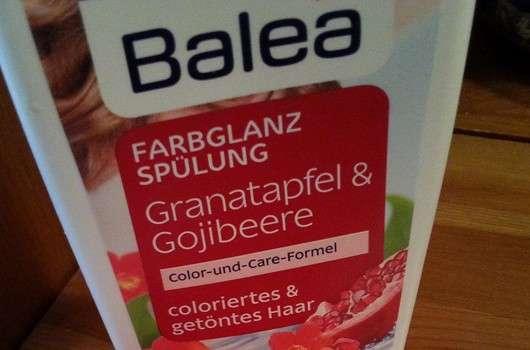 Balea Farbglanz Spülung Granatapfel & Gojibeere