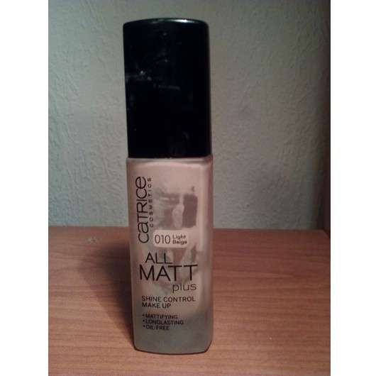 Catrice All Matt Plus Shine Control Make Up, Farbe: 010 Light Beige